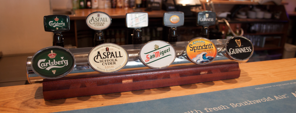 Slider – beer taps
