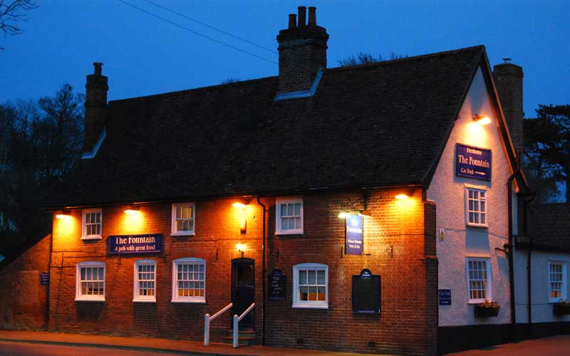 The Fountain Pub at Tuddenham