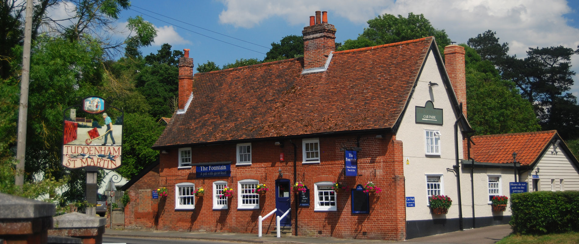 The Fountain Pub at Tuddenham